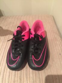 Football boots children's size 1