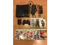 Xbox 360 SLIM- 250GB Console plus 15 games - £85