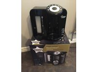 Used tommee tippee prep machine black. Brilliant condition. 2 brand new bottle bags.