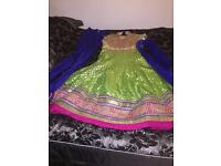 Indian mehndi dress
