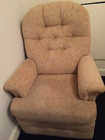 Pair of recliner arms chairs