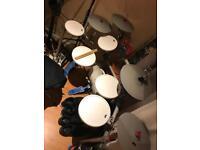 Kat KT3 drum kit + Big Dog Double Kick Pedal
