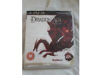 PlayStation 3 Game - Dragon Age Origins PS3