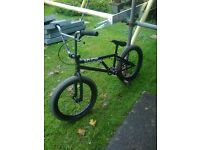 BIKE -- NEW 2016 INDUSTRY RIPPLE BMX -- NOT USED IN VGC