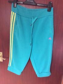 Adidas cropped joggies size xs