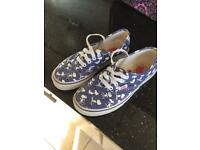 Children's Vans Shoes (Nearly New)