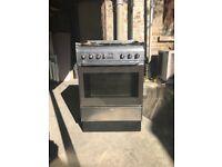SMEG Chrome Gas Cooker