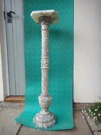 Antique Marble Jardiniere