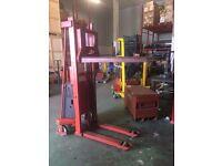 BT Platform Lift, 1000 KG Lifting Capacity, Requires 12V Battery