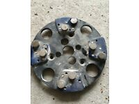 Refina diamond segment cup grinding wheel