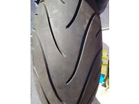 Motorcycle Michelin 190/50 ZR 17 Rear Tyre.