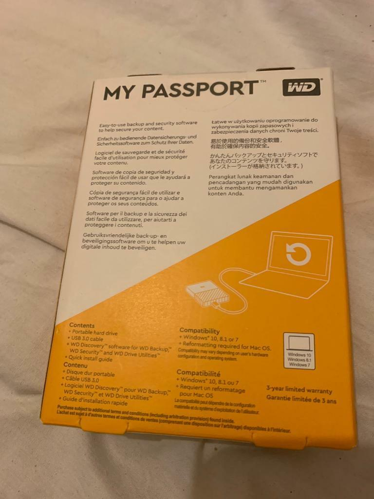 WD My Passport 4TB | in Woodford, London | Gumtree