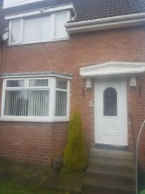 Three Bedroom House for rent, Okehampton Square, Sunderland SR5.