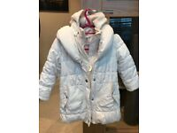 M&S girls autograph winter coat aged 3-4 years