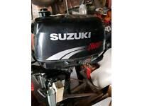 Suzuki 4hp outboard 4 stroke