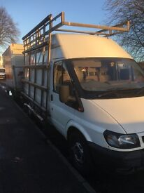 2006 Ford transit high top long wheel base with roof and side rack