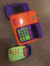 Kids till and calculator