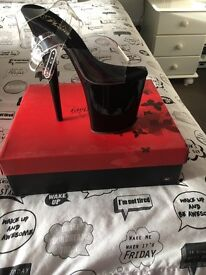 Pole dancing shoes size 3 brand new