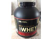 Optimum Nutrion Gold Standard 100% Whey, Brand New Sealed
