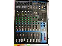 Yamaha mixer (mg12xu) and behringer ultragraph pro equaliser
