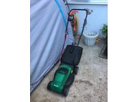 Qualcast Mower and Trimmer