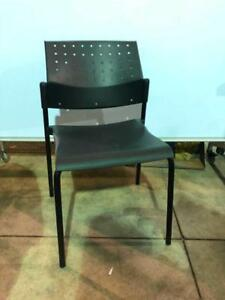 Global Sonic Guest Chairs - Armless - $49
