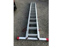12X3 triple extension ladder