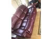 ** 3+1+1 reclining suite of furniture**