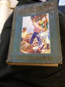 EARLY 1900'S BOOK CANADIAN BOYS ANNUAL