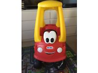 Little Tikes Cozy Coupe red and yellow