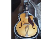 GRETSCH SYNCHROMATIC G100CE ARCHTOP GUITAR-WITH STAGG HARD CASE-COURIER-OFFERS