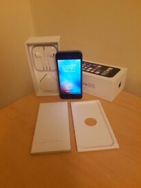Apple iPhomr 5s 16GB Space Grey Boxef £100