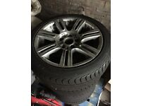 Bmw rims and tyres for sale