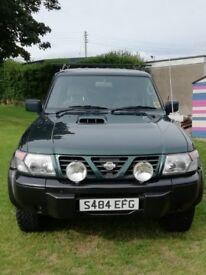 Nissan Patrol; Jeep; 4x4; £2,350 ono NOW SOLD