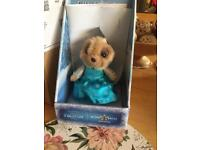 Elsa Meerkat. Limited edition. Compare the market meerkat.