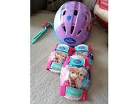 Girls Disney Frozen Helmet/Pads & Thomas Tank Pads