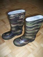 Rain Boots - Youth size 2 - Like New