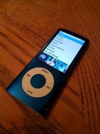 Ipod Nano 5th generation (4gb Blue)