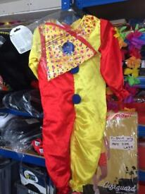 Toddler clown costume age 2-3