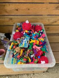 13 parrot toys