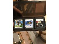 Nintendo DS XL, 6 Games and Charger