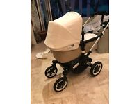 Bugaboo buffalo pram and pushchair