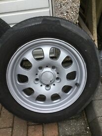 BMW 4 X Alloy Wheel's and tyres