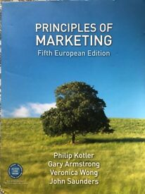 Principles of Marketing by Kotler, Armstrong, Wong and Saunders