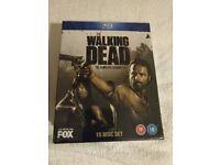 The Walking Dead Seasons 1-4 Blu Ray *Brand new & Sealed*