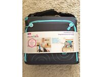 New! Munchkin Travel Booster Seat Baby Child Safety Foldable Portable Adjustable