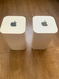 X2 Apple Airport Extreme 6th Generation 2.4/5ghz Wireless AC Router