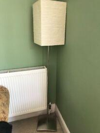 2 MATCHING FLOOR LAMPS- HEALS/HABITAT