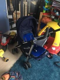 2 way facing stroller