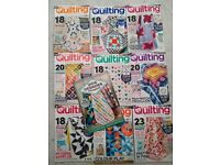 10 patchwork and quilting magazines